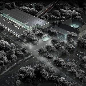 Wizualizacja Muzeum Historii Polski, projekt PACZOWSKI ET FRISCH ARCHITECTES