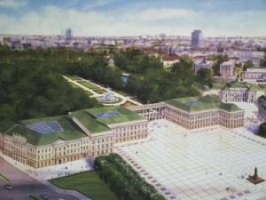 Pałac Saski - projekt