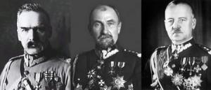 Piłsudski Rozwadowski Sikorski