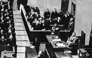 Piłsudski w Sejmie