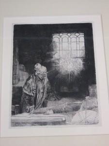 Rembrandt Hermensz van Rijn, Alchemik w pracowni
