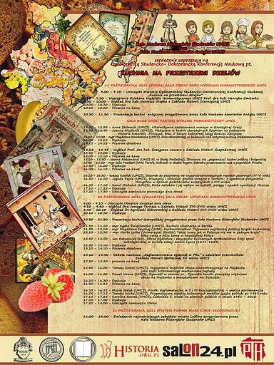 Konferencja  Kuchnia na przestrzeni dziejów   HISTORIA