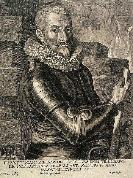 hrabia Johan von Tilly