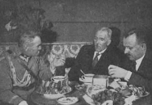Ignacy Mościcki i Józef Piłsudski