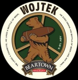 Wojtek Beer / fot. beartownbrewery.co.uk