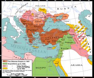 Imperium Osmańskie / fot. André Koehne, CC-BY-SA-3.0