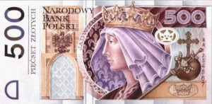 500zł banknot