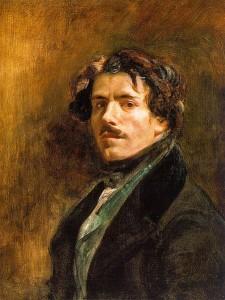 Autoprotret, Eugène Delacroix