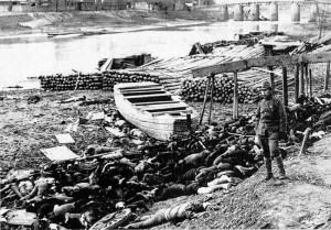Ciała ofiar masakry nankińskiej