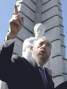 Fidel Castro / fot. Ricardo Stuckert/ABr. 27/09/2003, CC-BY-SA-3.0