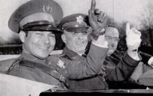 Fulgencio Batista z amerykańskim generałem Malin Craigiem w Waszyngtonie w 1938 roku