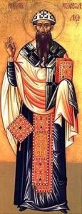 Ikona przedstawiająca Cyryla z Aleksandrii