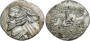 Fraates IV / fot. Classical Numismatic Group, CC-BY-SA-3.0