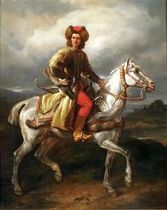 Lisowczyk na białym koniu, Juliusz Kossak