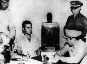 Aresztowany Fidel Castro po ataku na koszary Moncada