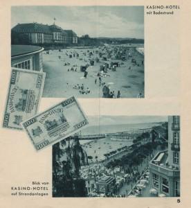 Kasyno-Hotel w Sopocie / fot. Nach Zoppot, broszura informacyjna z 1931 r.