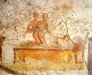 Trójkąt kochanków (starożytny Rzym, Pompeje)