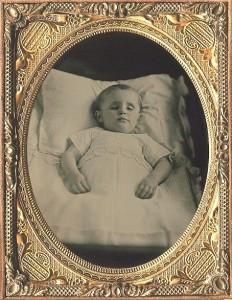 Zdjęcie kilkuletniego chłopca o imieniu William. Niderlandy, 1850 r.