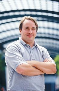 Linus Torvalds / fot. linuxmag.com, CC-BY-SA-3.0