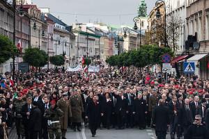 """Marsz """"Razem dla Niepodległej"""" w 2012 r. / fot. prezydent.pl"""