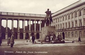 Pałac Saski przed wojną
