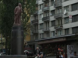 Pomnik Lenina w Kijowie / fot. Robert Broadie, CC-BY-SA-3.0
