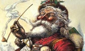 Jeden z wizerunków Św. Mikołaja autorstwa Tomasa Nasta