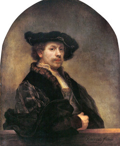 """Rembrandt, """"Autoportret"""" (1640)"""
