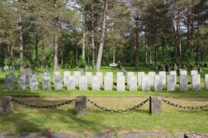 Cmentarz brytyjski w Hakvik