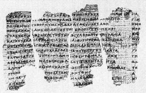 Fragment papirusu z Derveni