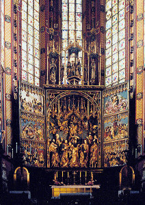 Ołtarz Wita Stwosza w Krakowi / fot. Pko, CC-BY-SA-3.0