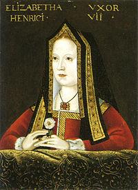 Elżbieta Wodville, córka Edwarda IV i bratanica Ryszarda III