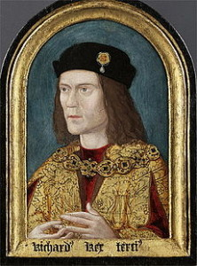Najstarszy zachowany portret Ryszarda III (datowany na 1520 r.)