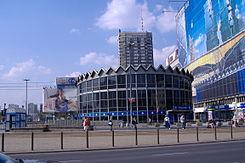 Rotunda w Warszawie-widok współczesny
