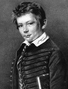 Otto von Bismarck w wieku 11 lat