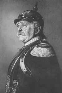 Otto von Bismarck w roku 1891