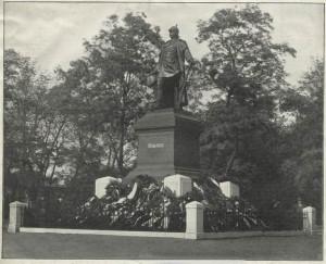 Pomnik Bismarcka w Poznaniu. Usunięty 4 kwietnia 1919 roku