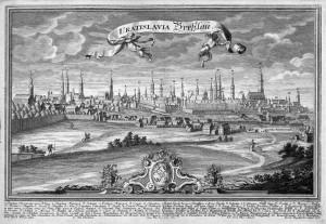 Wrocław w 1736 r.