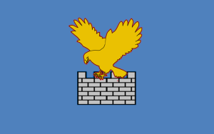 Flaga Regionu Wenecji Julijskiej / aut. Xarucoponce CC-BY-SA-3.0