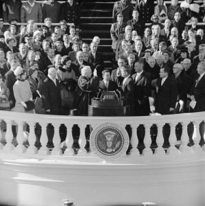 John F. Kennedy zaprzysiężony na 35 prezydenta USA
