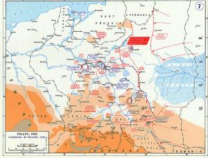 Uderzenie jednostek Armii Czerwonej na Polskę 17 września 1939