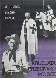 Plakat Jana Bohusewicza Z mroków średniowiecza (1982)