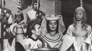 Kadr z filmu Krzyżacy