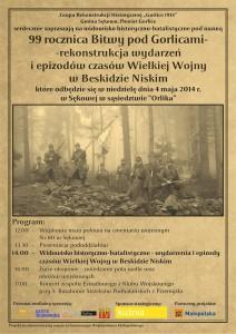 99 rocznica bitwy pod Gorlicami