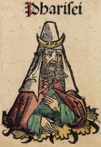 Wyobrażenie Faryzeusza z Kroniki norymberskiej (1493)