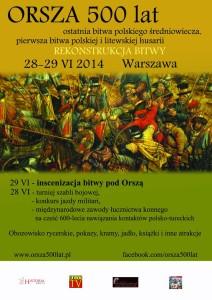 bitwa pod Orszą 1514 rekonstrukcja
