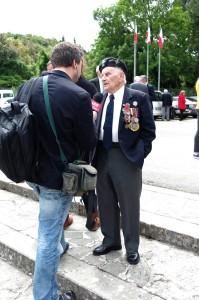Major Romuald Lipiński/ fot. Konrad Tracz