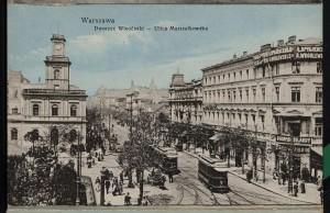 Dworzec Wiedeński - Ulica Marszałkowska