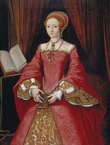 Elżbieta I w latach swej młodości