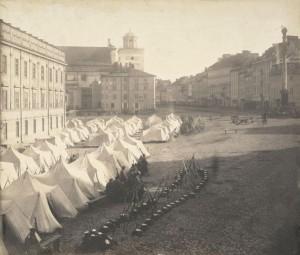 Obóz armii rosyjskiej